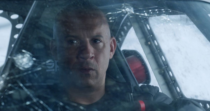 "Vin Diesel stars as Dominic Toretto in ""The Fate of the Furious"""