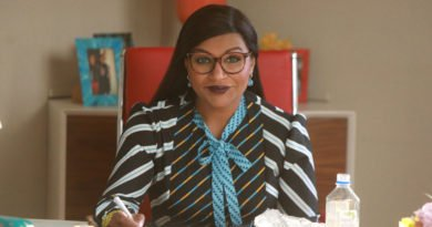 "THE MINDY PROJECT -- ""Is That All There Is?"" Episode 601 -- Shulman & Associates is buzzing with drama! As Mindy adjusts to married life with Ben, Jeremy tries to take things to the next level with Anna, while Tamra makes a life-changing decision. Dr. Mindy Lahiri (Mindy Kaling), shown. (Photo by: Jordin Althaus/Hulu)"