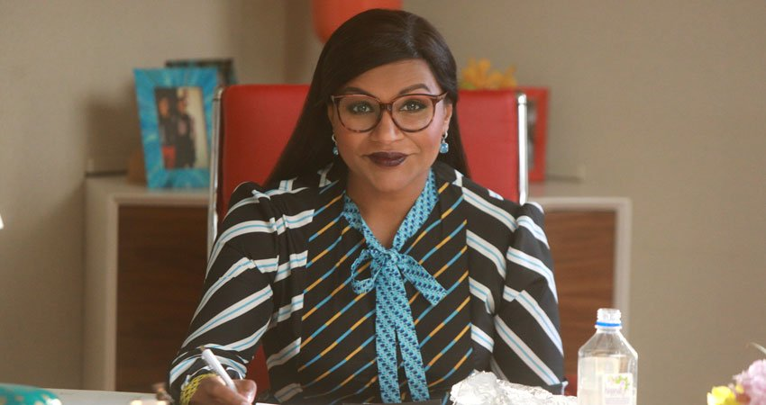 """THE MINDY PROJECT -- """"Is That All There Is?"""" Episode 601 -- Shulman & Associates is buzzing with drama! As Mindy adjusts to married life with Ben, Jeremy tries to take things to the next level with Anna, while Tamra makes a life-changing decision. Dr. Mindy Lahiri (Mindy Kaling), shown. (Photo by: Jordin Althaus/Hulu)"""