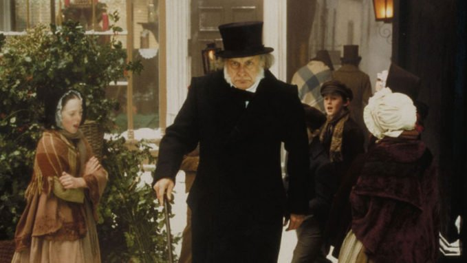 George C Scott A Christmas Carol.George C Scott Brings The Bah Humbug To A Christmas