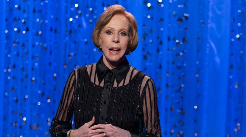 Carol Burnett has her name on a new Golden Globe Award