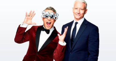 Anderson Cooper and Andy Cohen bring in the New Year on CNN