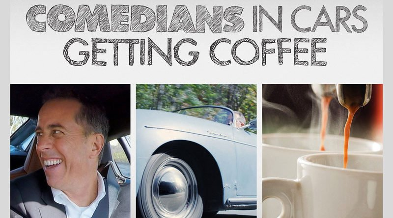 Jerry Seinfeld is joined by well-known comedians for a cup of coffee and a ride in a classic car.
