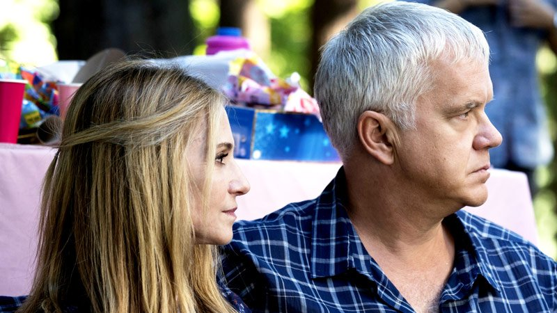 "Holly Hunter and Tim Robbins star in ""Here and Now,"" premiering Sunday, Feb. 11, on HBO."