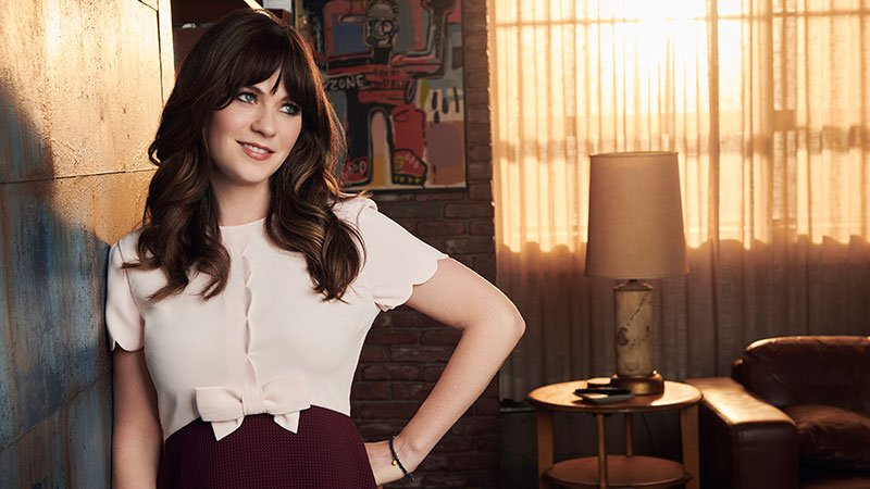 "Zooey Deschanel of ""New Girl"" Tuesday on Fox"