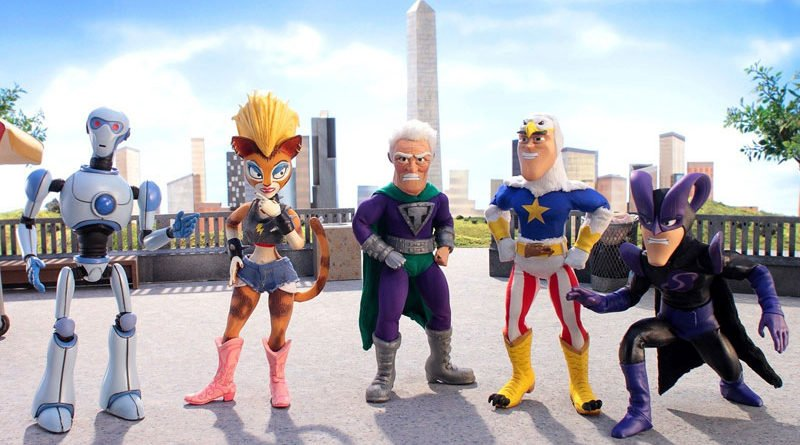 """SuperMansion,"" premieres with weekly episodes starting Monday, May 7th."
