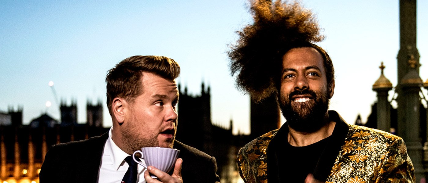 James Corden goes home again: CBS' 'Late Late Show' returns to England