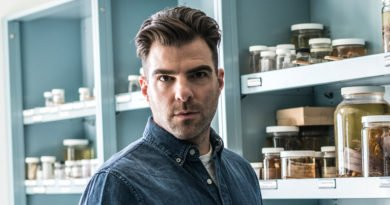Zachary Quinto – Walking in Nimoy's footsteps