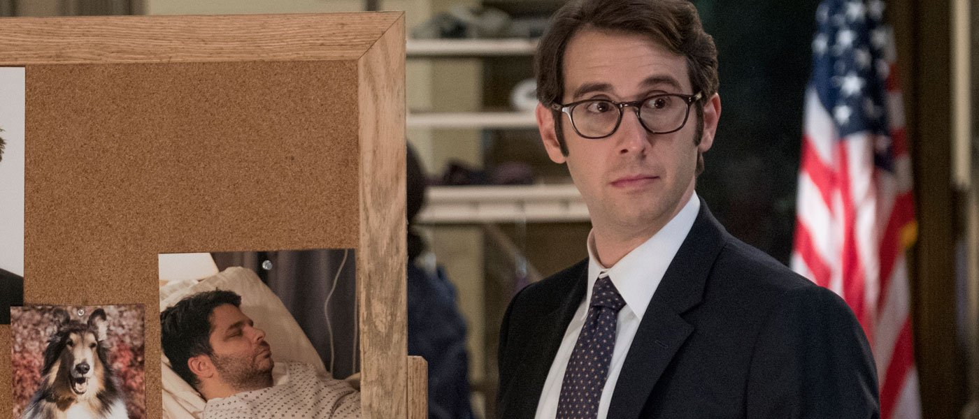 Danza and Groban winning as father/son detectives in Netflix's 'The Good Cop'