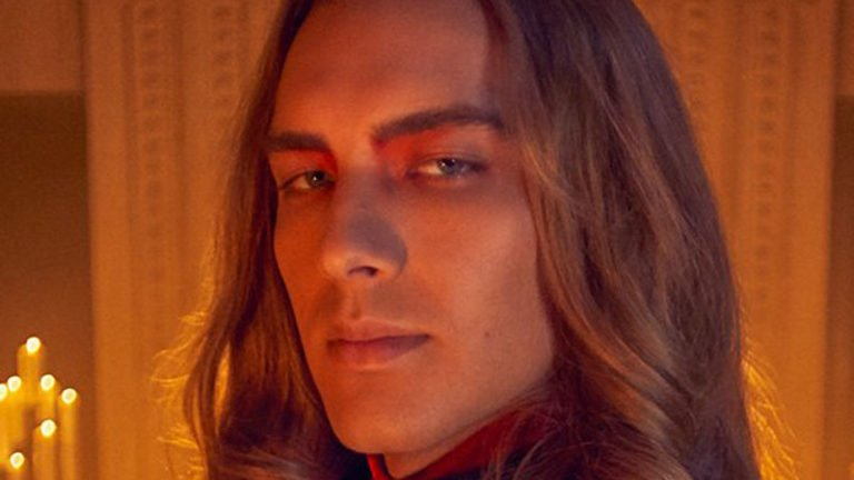 Cody Fern plays Michael Langdon as the Antichrist in AHS