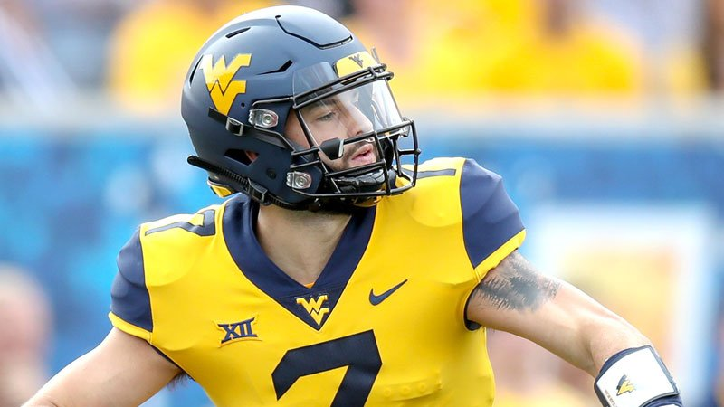 Will Grier, West Virginia's pro-style QB