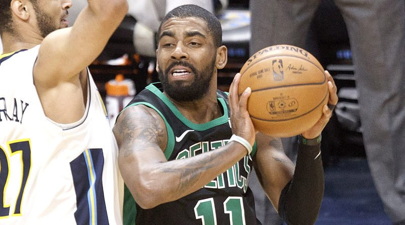Healthy Kyrie Irving ready to lead Celtics