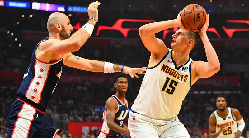 Jokic's unique skill set leads Nuggets to top of Northwest