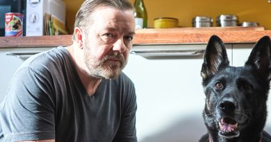 Gervais plays a widower with a grudge against the world in 'After Life'