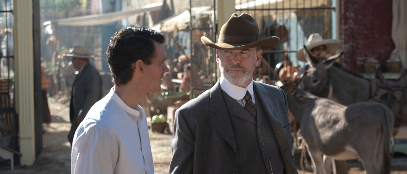 Pierce Brosnan returns to finish AMC's 'The Son'