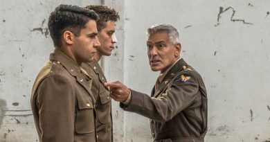 A soldier endeavors to prove himself unfit for duty in Hulu's 'Catch-22'