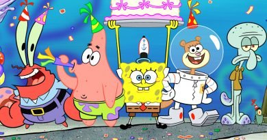 'SpongeBob SquarePants' rides a 20-year success wave of nautical nonsense