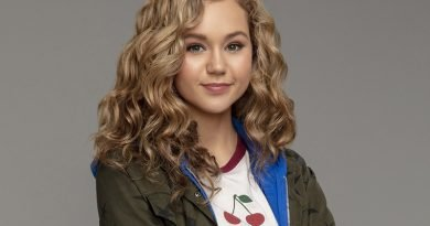 Brec Bassinger stays in shape for 'DC's Stargirl'
