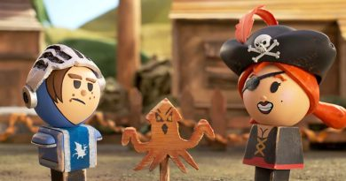 Skullduggery and seduction among medieval peg people in Hulu's stop-motion 'Crossing Swords'