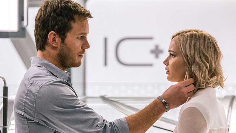 Lawrence and Pratt are intergalactic 'Passengers'