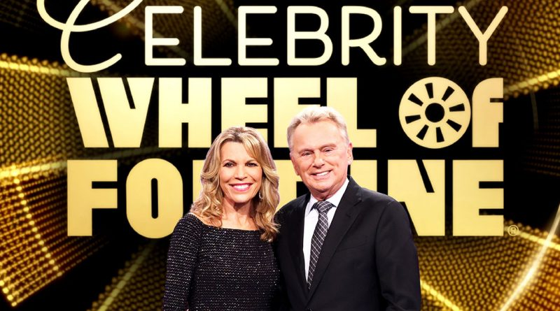 Celebrities play 'Wheel of Fortune' on ABC