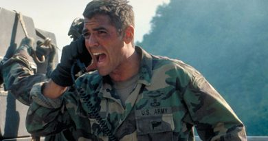 George Clooney is a violent 'Peacemaker'