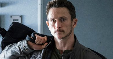 Jonathan Tucker helps handle 'Debris'