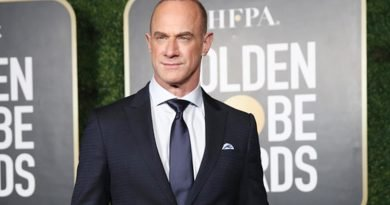 Christopher Meloni is glad to maintain 'Law & Order' again