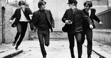 The Beatles had a 'Hard' time in black-and-white