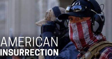 Insurrection is the subject of a new 'Frontline' hour