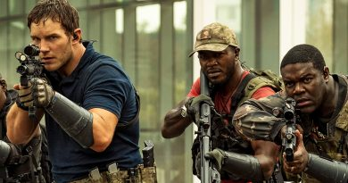 Chris Pratt wages 'The Tomorrow War' for streaming purposes