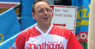 Chestnut goes for 14th title in Nathan's Famous Hot Dog Eating Contest
