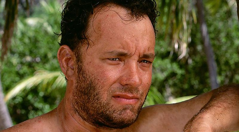 Tom Hanks is the whole show for much of 'Cast Away'